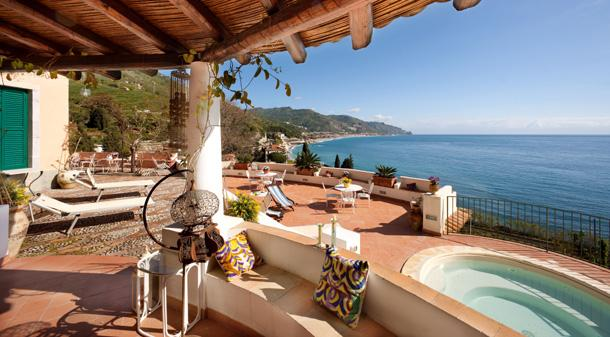Island Villa in Sicily, Walk to the Water - Villa Spisone - 6 - Image 1 - Taormina - rentals
