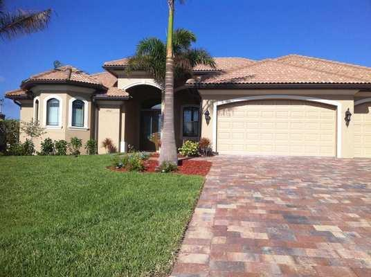 Front - Brandnew Villa on wide canal close to Cape Harbour - Cape Coral - rentals