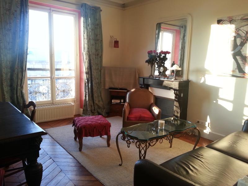 Lounge with rare art nouveau coffee table - Relax with Park View Designer apt near Montmarte - Paris - rentals