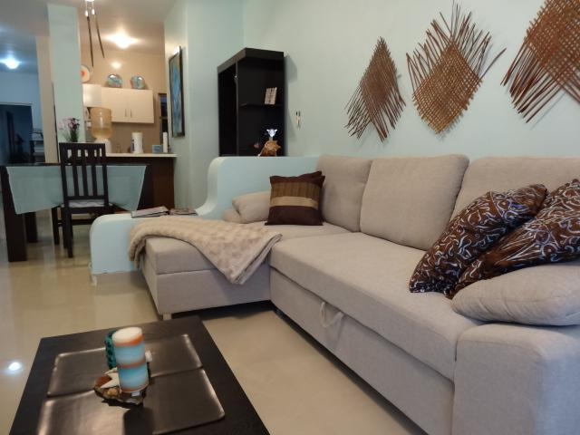 open living room/dining room - 1 BR CASA MARIPOSA - COCO BEACH - Playa del Carmen - rentals