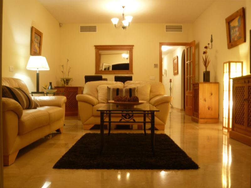 Large Lounge With High Quality Furniture And Of course Air Conditioned - Luxury Two Bed Two Bathroom Holiday Apartment - Mijas - rentals