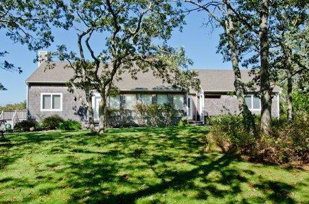 HILLTOP HOUSE WITH DISTANT WATER VIEWS - CHIL AMOS-95 - Image 1 - Chilmark - rentals