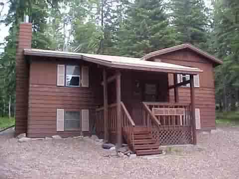 Front of home - Terry Peak 3 BR Rental Home, Black Hills - Lead - rentals