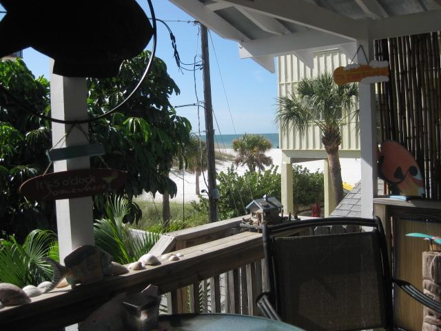 Private Deck Great View of Beach - Romance On The Beach! Great View of the Beach! - Clearwater - rentals