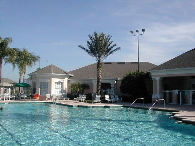 Fantastic Olympic size heated pool and jacuzzi - Fantastic 3 Bedroom Home on Windsor Palms, located near Disney - Kissimmee - rentals