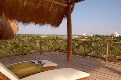 Villa Laguna Encantada View from Roof Top Observatory - Villa Laguna Encantada, Up to 18 guests Akumal - Akumal - rentals
