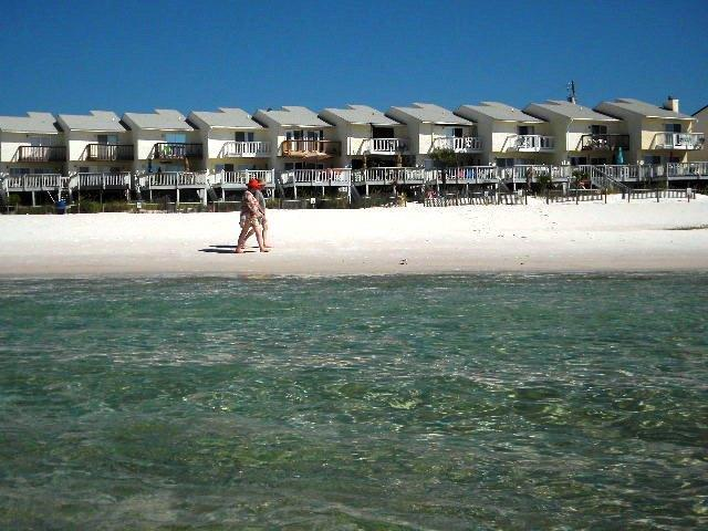 short walk to water - Walk Off Your Private Deck Into The  Sand   Pets - Panama City Beach - rentals