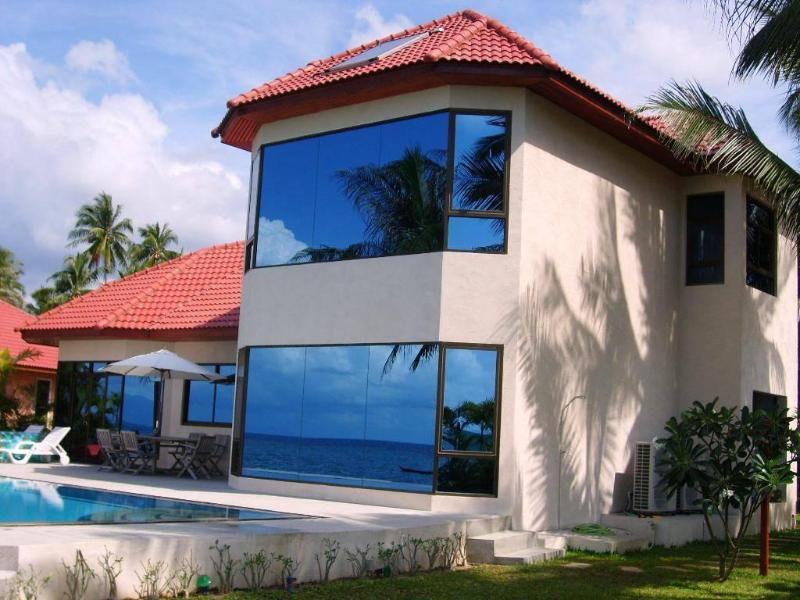 Outdoor - 3-bedroom beachfront villa in BaanTai - Koh Phangan - rentals