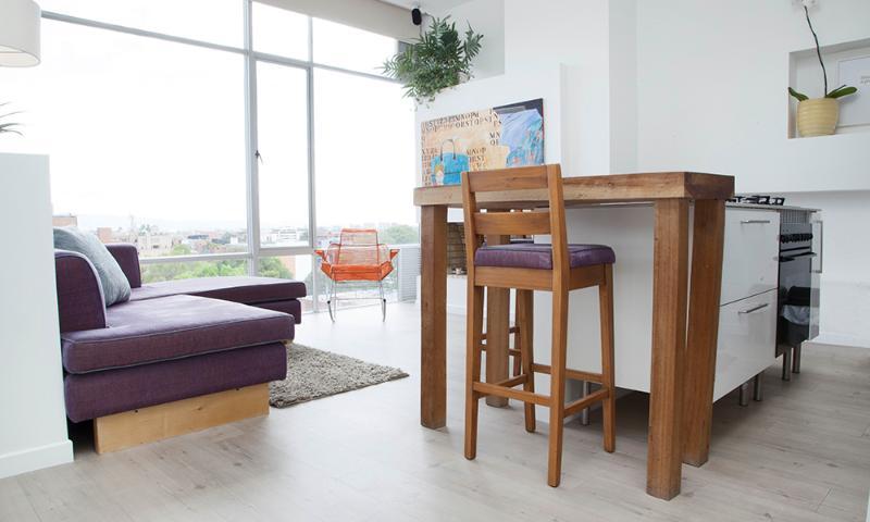 Luminous, Modern Studio Apartment in Zona T - Image 1 - Bogota - rentals