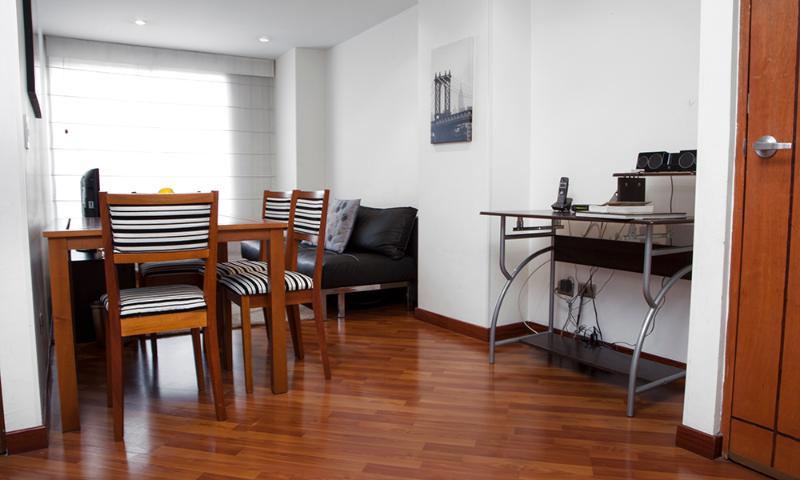 Modern 1 Bedroom Apartment in Zona T - Image 1 - Bogota - rentals