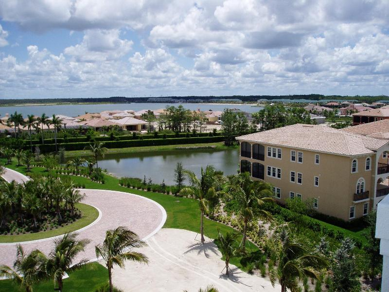 Bedroom balcony view - Penthouse Condo at Miromar Lakes - by owner - Cape Coral - rentals