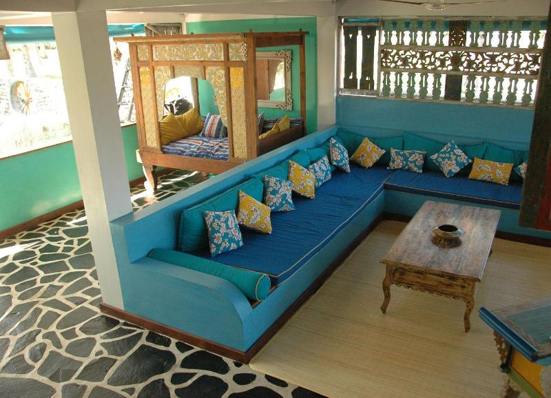 Open plan living room - Kai's Beach House - West Nusa Tenggara - rentals