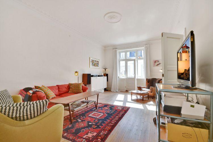 Westend Apartment - Large Copenhagen apartment with balcony at Westend - Copenhagen - rentals