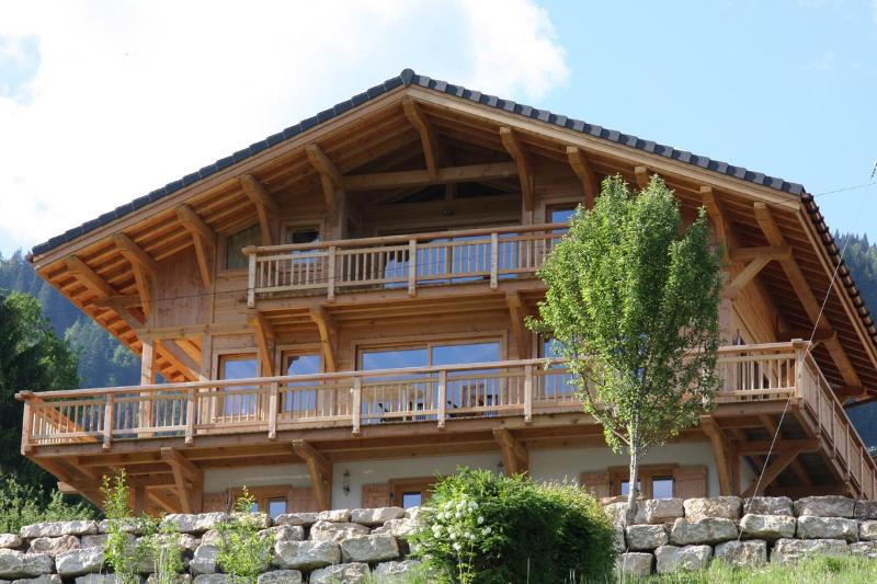 Rear view of Chalet APASSION - Chalet APASSION, Samoëns, France - Samoëns - rentals