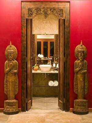 Powder Room - 2 BR APARTMENT IN SEMINYAK - THE SUNSET SUITE - Bali - rentals