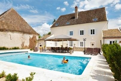 Villa Delphinus holiday vacation luxury villa rental france burgundy bourgogne saunieres, holiday vacation luxury villa to rent france b - Image 1 - Ciel - rentals