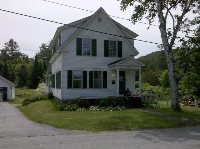 Front of home - Kilburn Place Unit 2 - Relax in White Mtns -2BR - Littleton - rentals