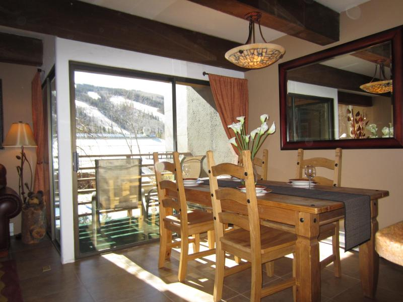 Welcome! Runs right outside our window! - WALK ~ Villages/Gondola|STEPS to Hospital/Steadman - Vail - rentals