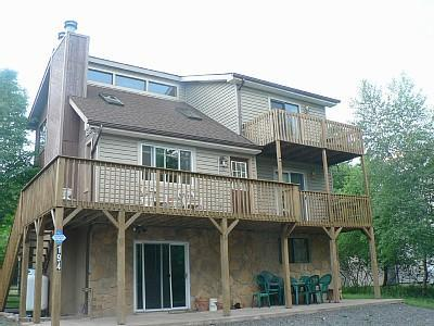 The Bishop2 House - 3 Story House Across from the Lake, Beach & Pool - Albrightsville - rentals
