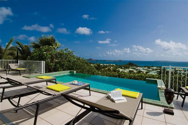 La Sarabande at Orient Bay, Saint Maarten - 180º View Over Orient Bay, Pool, Modern Style - Image 1 - Orient Bay - rentals