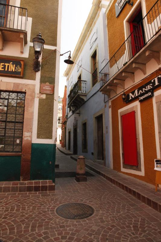 entrance - Querencia, a restored colonial home in Guanajuato - Guanajuato - rentals