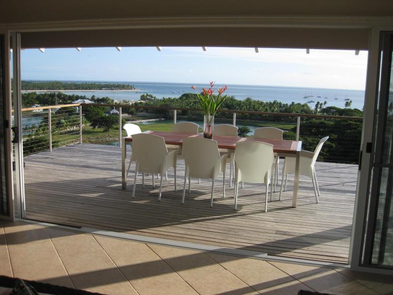 View from the terrace - Luxury Fiji Holiday House - Full Resort Facilities - Malolo Island - rentals