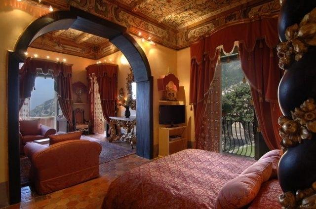 Villa Rossa Rent luxury villa in Positano, Positano luxury villa for rent, holiday home to let on Amalfi Coast Positano - Image 1 - Positano - rentals