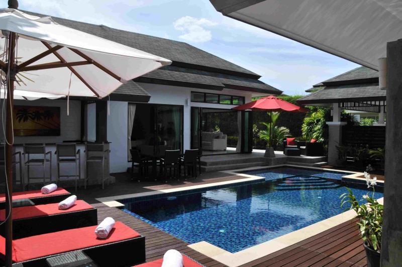 Private Pool Deck - 4 Bedroom Luxury Pool Villa in Layan Phuket - Phuket - rentals