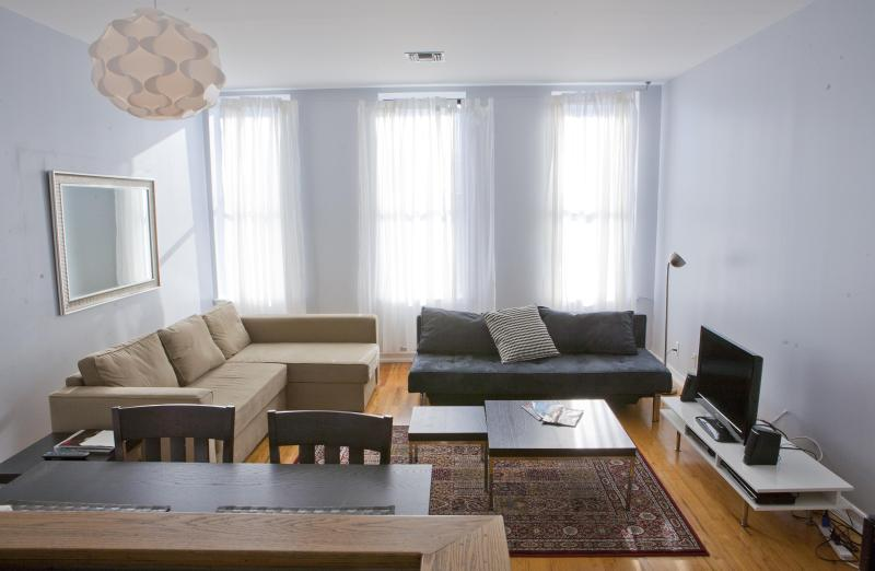 Living Area - Manhattan - Perfect Location, Sleeps 5, Beautiful! - New York City - rentals