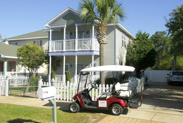 Welcome to Beachinit 4587 Woodwind Dr - White Sand Blue Water DestnGolf Cart Pool Pets Bea - Destin - rentals