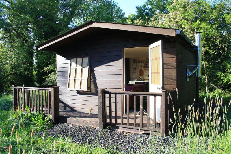 front view of Eco Cabin - Mill House Eco Cabin - County Meath - rentals