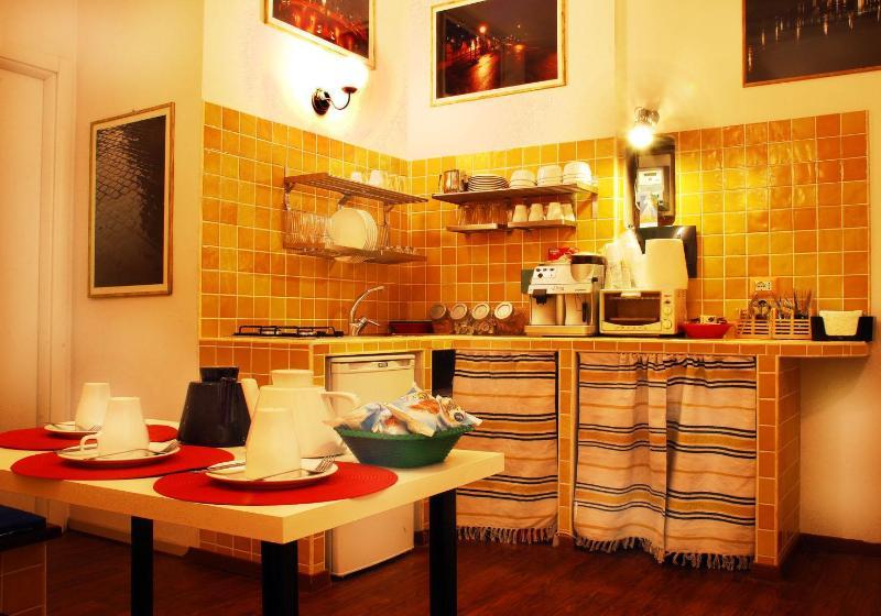 Dining room - angolo romano b&b Vaticano metro Cipro Roma - Rome - rentals