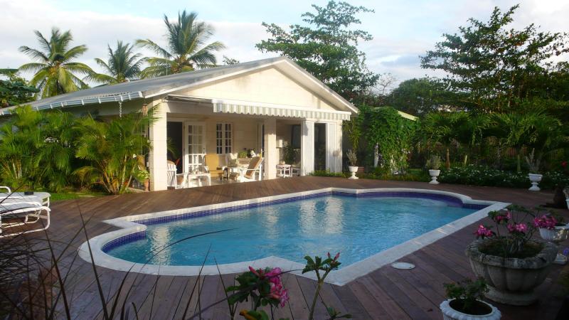 Villa, pool & private garden - Luxury villa & private pool in Holetown, St James - Holetown - rentals