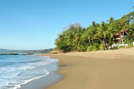 Casa Oceano- exquisite beachfront infinity pool- alfresco shower, near golf - Image 1 - Tambor - rentals