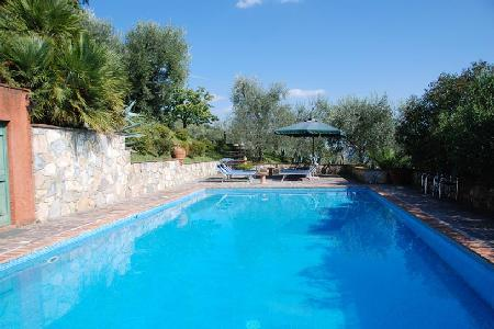 Remarkable Villa Al Palazzaccio, surrounded by olive trees with a private pool - Image 1 - Lucca - rentals