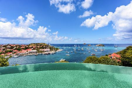 Modern Villa Lam offers amazing sunset views, close to the city of Gustavia - Image 1 - Gustavia - rentals