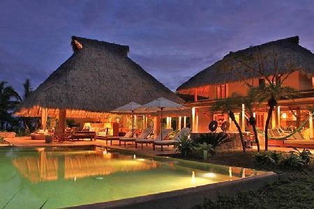 Casa Terral - Oceanfront villa boasts, heated infinity pool & spacious living area - Image 1 - Punta de Mita - rentals
