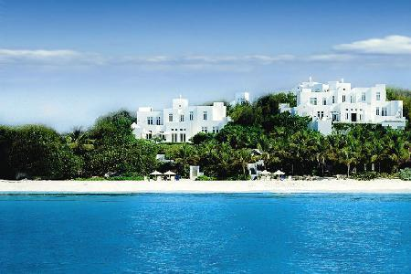 Sand Villa - Luxurious, beachfront villa on 2 storeys with pool & jacuzzi - Image 1 - Long Bay Village - rentals