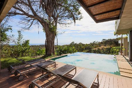 Ocean view Tierra- BB22 on tropical grounds, with pool- jetted tub & landscaped rooftop - Image 1 - Guanacaste - rentals