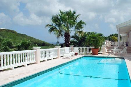 Catch A Waveon the sixth hole of the Buccaneer Golf Course with pool & tropical landscaping - Image 1 - Saint Croix - rentals
