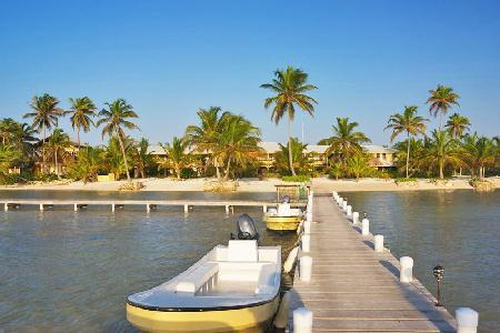 Beachfront El Pescador Villas offers stunning views, scuba diving instructor & daily maid - Image 1 - Ambergris Caye - rentals