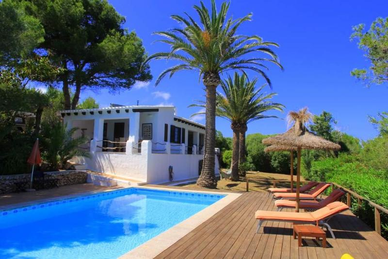 Villa, pool, sundeck: Welcome! - In UNESCO Biosphere - near coast + Mahon (Menorca) - Es Grau - rentals