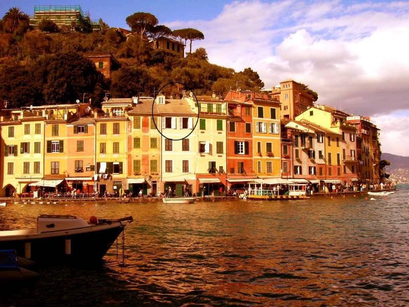The picturesque view of the Harbour, Casa Zina in the heart of it! - Casa Zina, amazing dream - house in Portofino! - Portofino - rentals