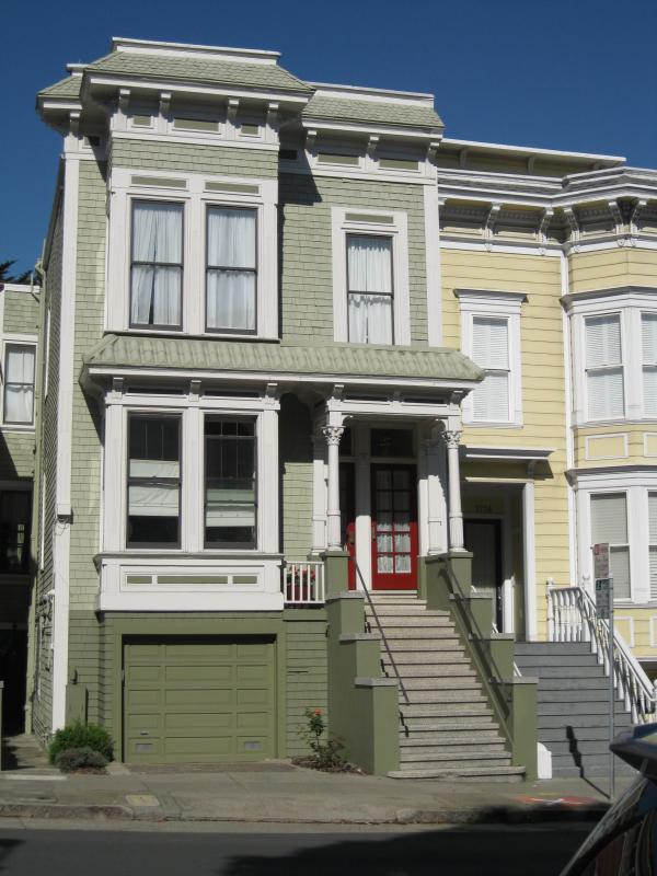 Front of Building - Pacific Heights, Large, Quiet, Garden Apartment - San Francisco - rentals