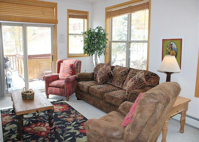 SDR207 Charming Townhouse w/Private Hot Tub, Wifi, Private Laundry - Image 1 - Silverthorne - rentals