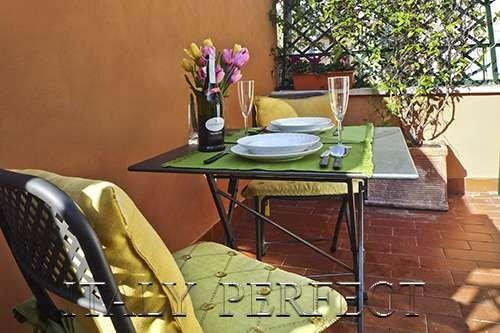 Perfect Dreamy Rome Spanish Steps-Terrace-Archetto - Image 1 - Rome - rentals