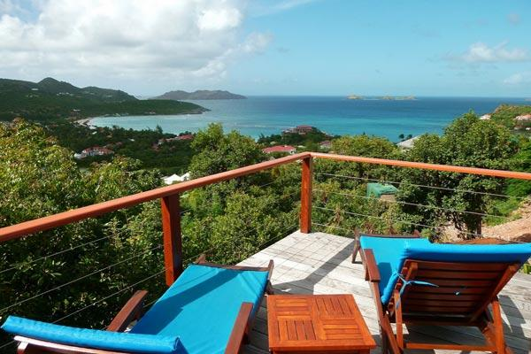 Located on the hillside with outstanding views and close to the beach WV AQU - Image 1 - Saint Jean - rentals