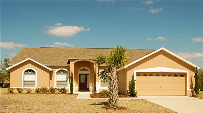 Buzzard Kissimmee vacation home rental-Close to Disney, 4 beds, 2 bath Private Pool & Spa - Image 1 - Clermont - rentals