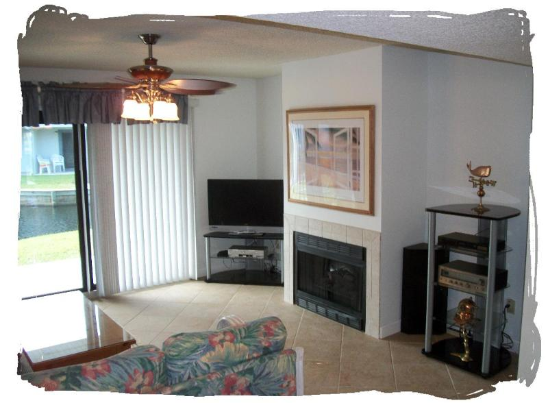 Beachy Living Room - Sea Winds Vacation Condo, St. Augustine Beach, FL - Saint Augustine Beach - rentals