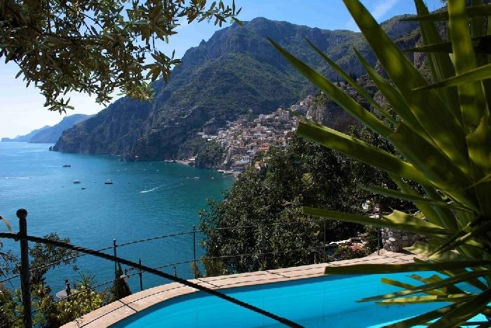 Villa Giovanni holiday rental on Amalfi coast, Italian coastal rentals with pool, Positano villas within walking distance - Image 1 - Positano - rentals